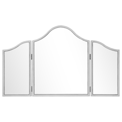 Elegant Decor MF6-1005S Chamberlan 39 In. Contemporary Mirror In Silver