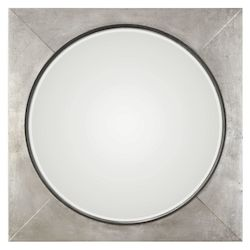 Uttermost Solomon Metallic Silver Mirror