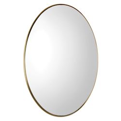 Uttermost Uttermost Pursley Brass Oval Mirror