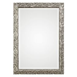 Uttermost Uttermost Evelina Silver Leaves Mirror