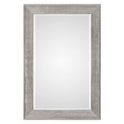 Uttermost Uttermost Leiston Metallic Silver Mirror
