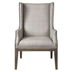 Uttermost Uttermost Florent Taupe-Gray Armchair