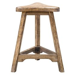 Uttermost Uttermost Luther Oak Counter Stool