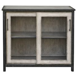 Uttermost Uttermost Dylan Wire-Mesh Accent Cabinet