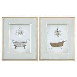 Uttermost Uttermost Gilded Bath Prints S/2