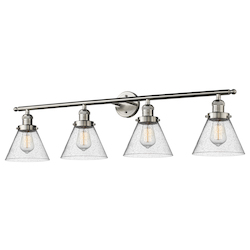 Innovations Lighting Glass 4 Light Vanity Bracket