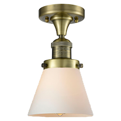 Innovations Lighting Glass Semi-Flush