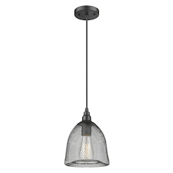 Innovations Lighting Mesh Metalwork Pendant