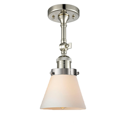 Innovations Lighting 1 Light Vintage Dimmable Led Semi-Flush Mount