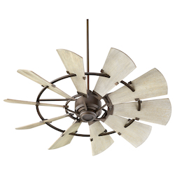 Quorum 95210-86 Windmill 52In. Fan - Ob
