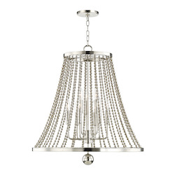 Spool 9 Light Chandelier