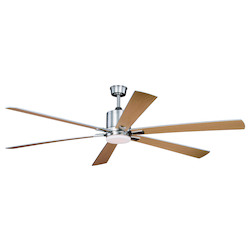 Vaxcel International Wheelock 60In. Ceiling Fan