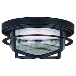 Logan 13In. Outdoor Led Flush Mount