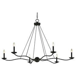 Sawyer 6Lt Chandelier