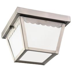 Sea Gull One Light Outdoor Ceiling Flush Mount