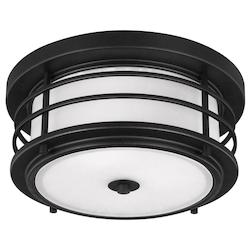 Sea Gull Two Light Outdoor Ceiling Flush Mount