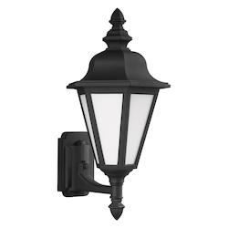 Medium Uplight One Light Outdoor Wall Lantern