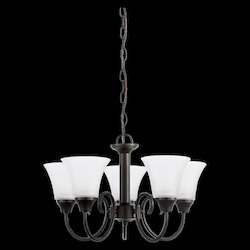 Sea Gull Five Light Chandelier