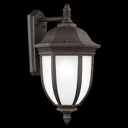 Sea Gull Extra Large One Light Outdoor Wall Lantern