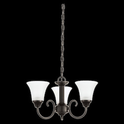 Sea Gull Three Light Chandelier