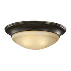 Three Light Ceiling Flush Mount
