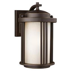 Sea Gull Small One Light Outdoor Wall Lantern