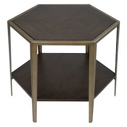 Uttermost 25314 Uttermost Alicia Geometric Accent Table
