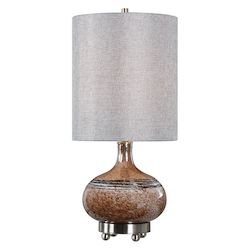 Uttermost 29610-1 Uttermost Judsonia Rust Glass Accent Lamp