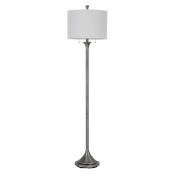 60 W X 2 Cosenza Metal Floor Lamp