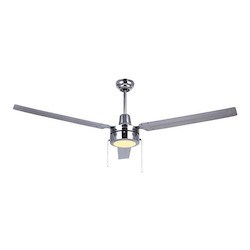 Canarm Industrial Fan, Cp56Ch, 56In. Loose Wire Fan With 4-Speed Wall Control And J-H