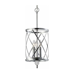 Canarm Vanessa, Ich172B03Ch10, 3 Lt Chandelier, Crystal Accent, 60W Type C, 9 3/4In.