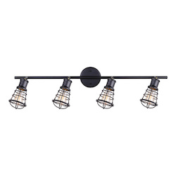 Canarm Otto, It611A04Gph, 4 Lt Ceiling/Wall, 60W Type A, 33 1/4In. (W) X 10 1/8In.