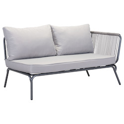 Zuo Modern Pier Right Arm Facing Double Seat Sofa