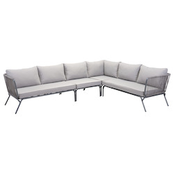 Zuo Modern Pier Left Arm Facing Double Seat Sofa