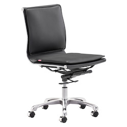 Zuo Modern Lider Armless Office Chair
