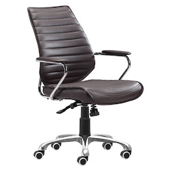 Zuo Modern Enterprise Low Back Office Chair