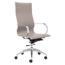 Zuo Modern Glider High Back Office Chair