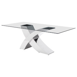 Zuo Modern Wave Dining Table