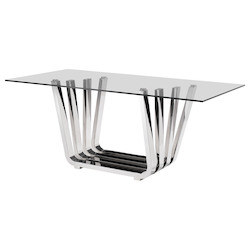 Zuo Modern Fan Dining Table