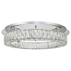 Monroe 1 Tier Led Flush Mount