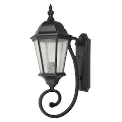 Living District LDOD2601 Ontario 25 Inch Outdoor Wall Lantern