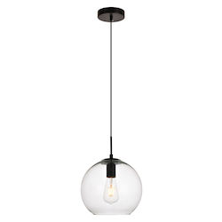 Living District LDPD2113 Placido 9.8 Inch 1-Light Pendant