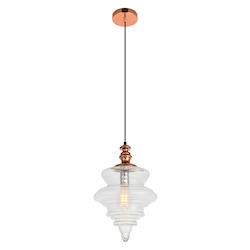 Living District LDPD2101 Topper 16.6 Inch 1-Light Pendant