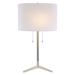 Bethel JTL123HL-PN Bethel Jtl123Hl-Pn Table Lamp