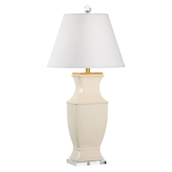 Rockville Lamp - Cream