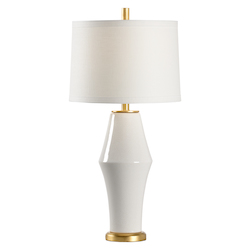 St Michael Lamp - White