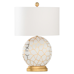 St Mary Lamp - White