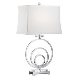Silver Regal Lamp