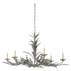 Laurel Chandelier - Gray