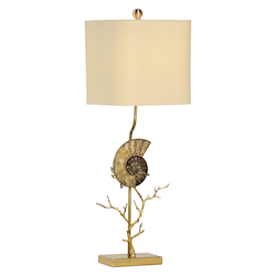 Ammonite Lamp-Lt